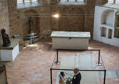 Trouwen Gasselte - De Wiemel Gasselte - Fotoshoot Klooster Ter Apel